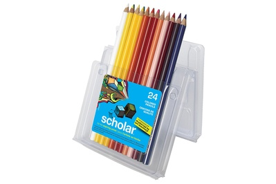 Prismacolor Scholar Colored Pencils (24-count)