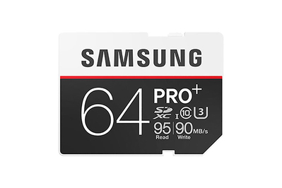 64GB Samsung Pro Plus